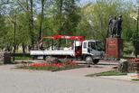 Центр Каменска-Уральского продолжает обновляться