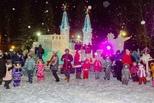 На радость детям: в парке трубников заработал ледовый городок