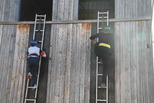Кустовые соревнования пожарных в Каменске-Уральском