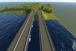 В Каменске-Уральском выбрали приоритетный вариант дублера Байновского моста