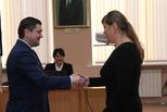 Предпринимателям города вручили дипломы