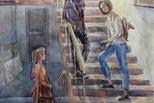 Экзамены для юных художников