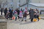 Уральские узоры рисовала детвора в сквере Тимирязева