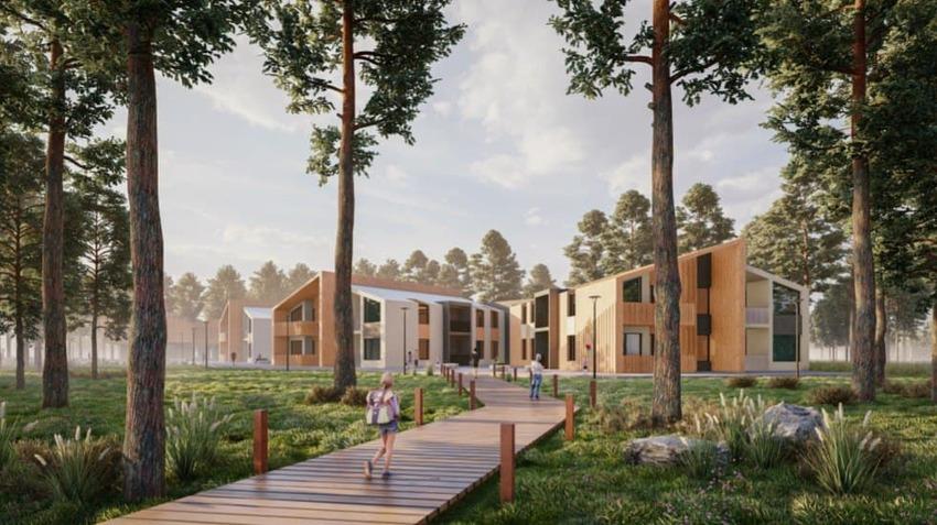 Евгений Куйвашев одобрил архитектурную концепцию детского хосписа на Шарташе и дал поручения по её воплощению