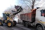 Без малого 20 тысяч кубометров снега вывезли с улиц Каменска за неделю