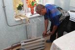 Жильцы дома ветеранов встретят зиму в теплом доме