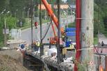 Байновский мост: снимают старую гидроизоляцию и активно готовятся к ремонту плиты