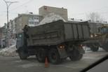 Более 28 тысяч кубометров снега вывезено на полигоны за неделю