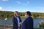 РУСАЛ планирует благоустроить пляж в районе ул. Набережной