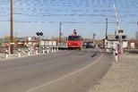 Новая страница в эксплуатации железнодорожного переезда 100 км