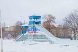 Ледовый городок в поселке Трубников почти готов