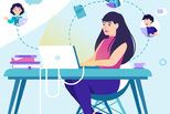 Виртуальный школьный звонок и виртуальные оценки