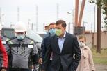 Глава региона посетил промлощадку УАЗа
