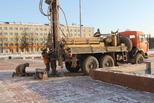 Сегодня в центре города провели геологические изыскания