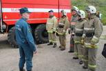 У пожарных боевой характер
