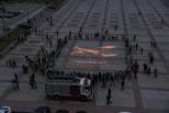 Каменск присоединился к всероссийской акции «Огненные картины войны»