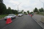 Дорожники продолжают ремонт улицы Кадочникова, от Байновского моста
