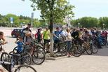Сотрудники Госавтоинспекции Каменска-Уральского приняли участие в городском велоквесте