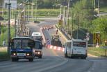 Первый день жизни города в условиях ремонта Байновского моста