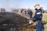 В Свердловской области успешно прошли учения по тушению лесных пожаров