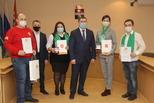 В Каменске-Уральском наградили волонтёров акции #МыВместе
