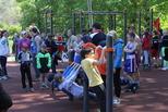 Открытие новой площадки для уличной гимнастики состоялось сегодня в Каменске-Уральском