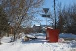 Новые контейнеры в частном секторе Каменска-Уральского