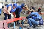 Старт экологических субботников: волонтеры навели порядок у озера Семь ключей