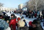 Жители Каменска с радостью присоединились к зимнему фестивалю «Выходи гулять»