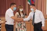 Алексей Герасимов вручил удостоверения молодым дублерам