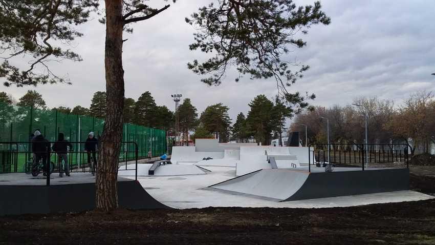 Не пропустите открытия скейт-парка и памп-трека в парке «Космос»