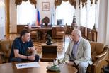 Евгений Куйвашев обсудил с сенатором Эдуардом Росселем и представителями отрасли развитие легкой промышленности региона