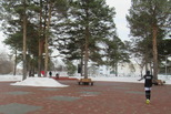 Городской парк «Космос» хорош в любое время года