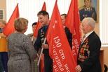 Копию Знамени Победы на хранение приняли