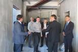 Министр спорта проинспектировал строительство крытого катка