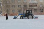 Подрядчики снег убирают, а УГХ каждый день их контролирует