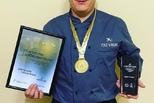 Каменский повар Николай Чукалкин признан лучшим в Уральском федеральном округе, победив в конкурсе «Славим человека труда!».