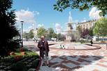 Римский фонтан на площади Горького будет радовать горожан уже в октябре
