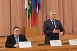 Ректор УрГЭУ встретился с руководителями школ и техникумов Каменска-Уральского