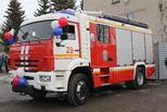Новый пожарный автомобиль − в награду