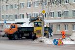 Борьба с последствиями снегопадов продолжается. Это общее дело и города, и бизнеса