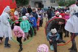 Веселый праздник подарили жителям самого благоустроенного двора